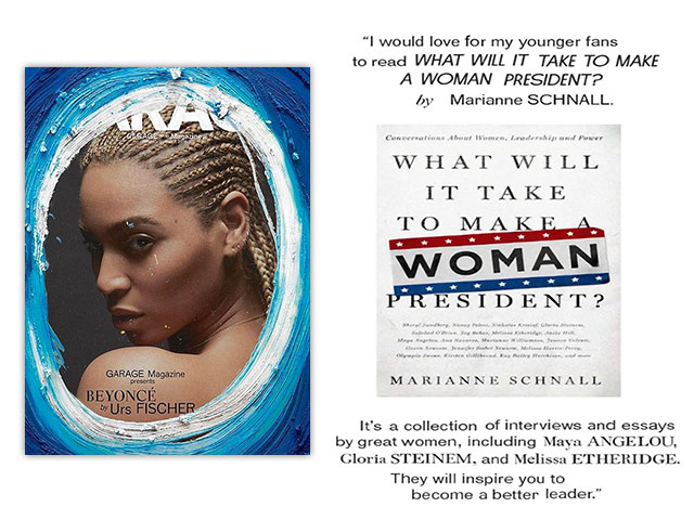 Beyonce recommends What Will it Take in Garage Magazine